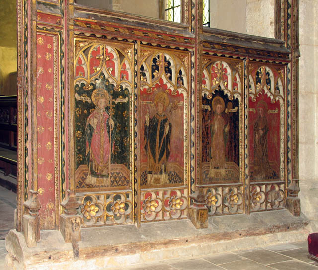 St Mary, East Ruston, Norfolk - Screen