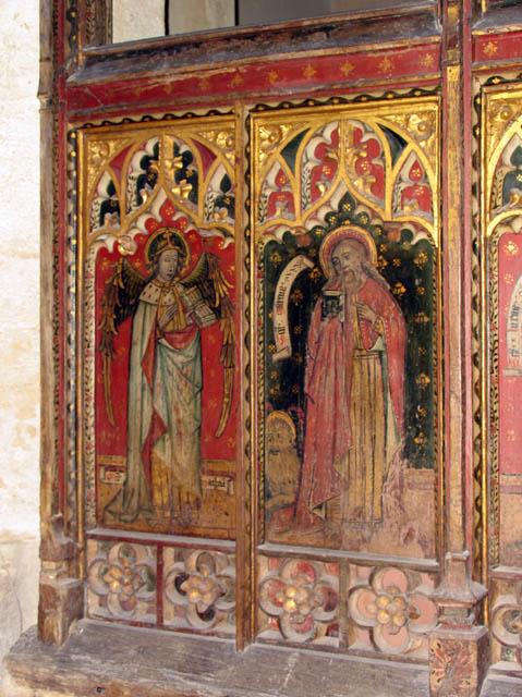 St Mary, East Ruston, Norfolk - Screen