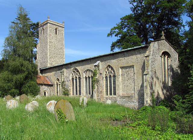 St John the Baptist, Alderford, Norfolk