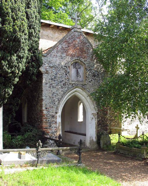 St John the Baptist, Alderford, Norfolk - Porch
