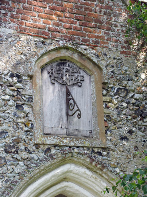 St John the Baptist, Alderford, Norfolk - Sundial