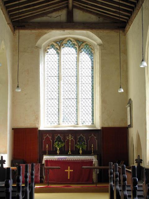 St John the Baptist, Alderford, Norfolk - Sanctuary