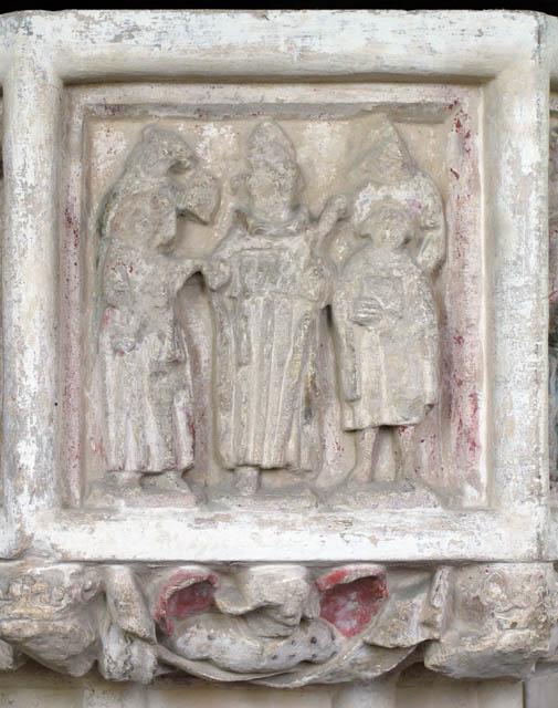 St John the Baptist, Alderford, Norfolk - Font
