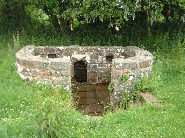 Trellech's holy well