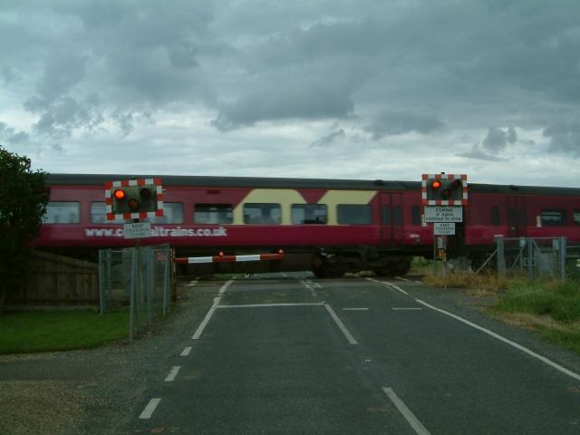 Crossing near Dodd's Farm