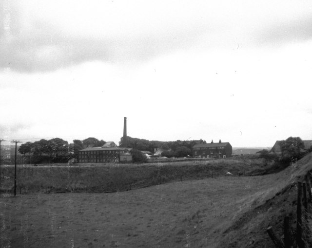 The Clegg Hall area in 1973