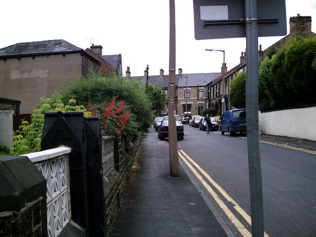 The bottom of Park Grove, junc. Princess Street