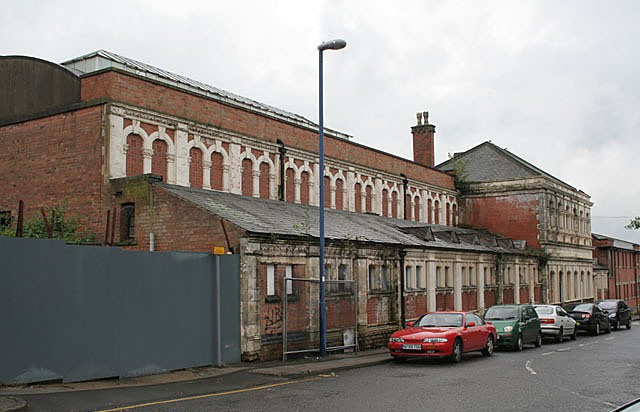 Former Baths buildings, Thackeray Street