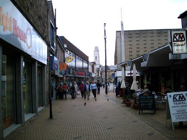 Market Street towards Town Hall