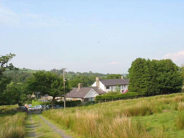 The track from Ty Coch