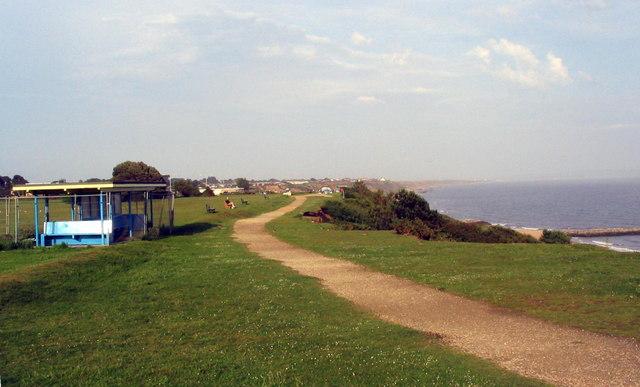 High Cliff, at Highcliffe.