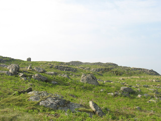 The ruins of Castell Carndochan