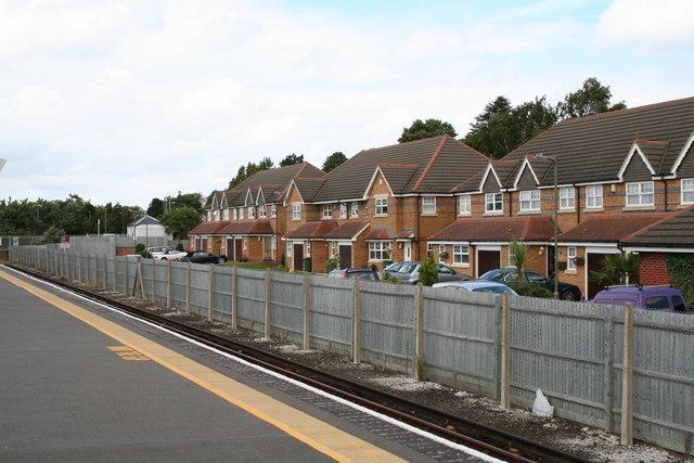 New houses near Tattenham Corner station