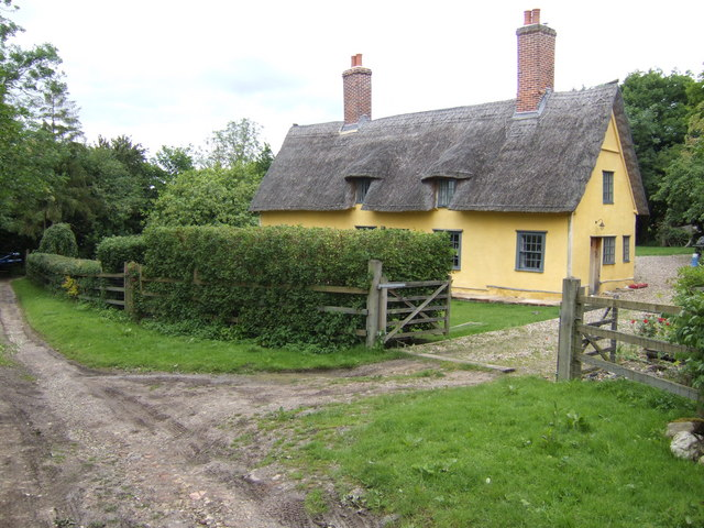 Cottage by Gibbon's Farm, Battisford, Suffolk