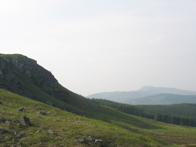 The Craig y Llestri crag
