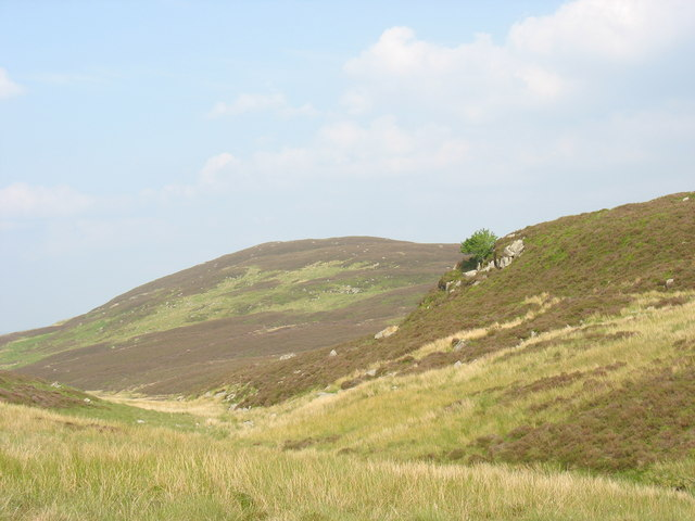 Cwm Afon Fwy with Foel y Graig in the background