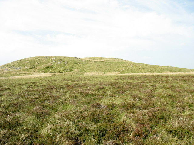 The south-western end of the Cerrig yr Iwrch ridge