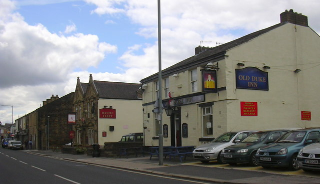 Old Duke Inn Briercliffe Road