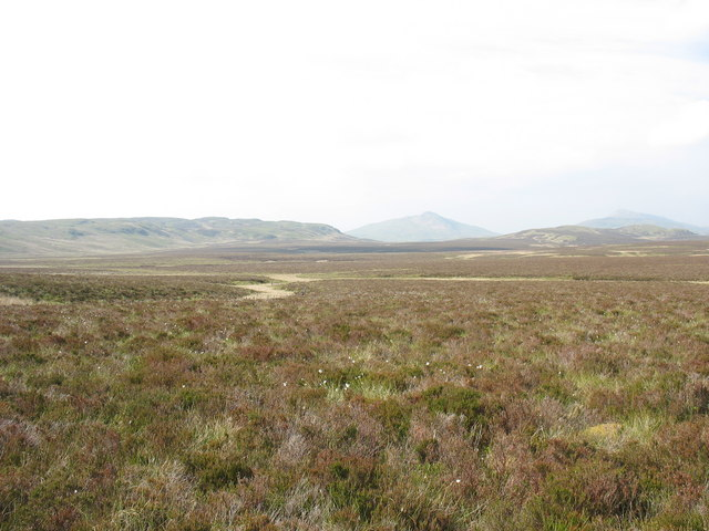 The saucer shaped Waun y Griafolen