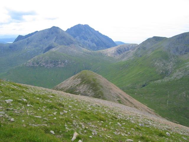 View south from Beinn Dearg Mheadhonach