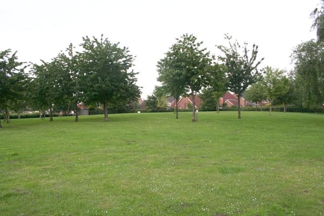 Open Land, Oak Tree Drive, Romanby