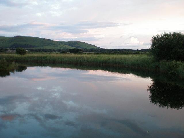 Quiet evening at the old bridge.