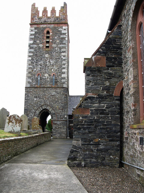 Andreas church and tower