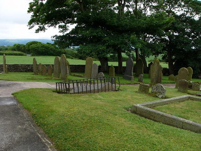 Andreas churchyard