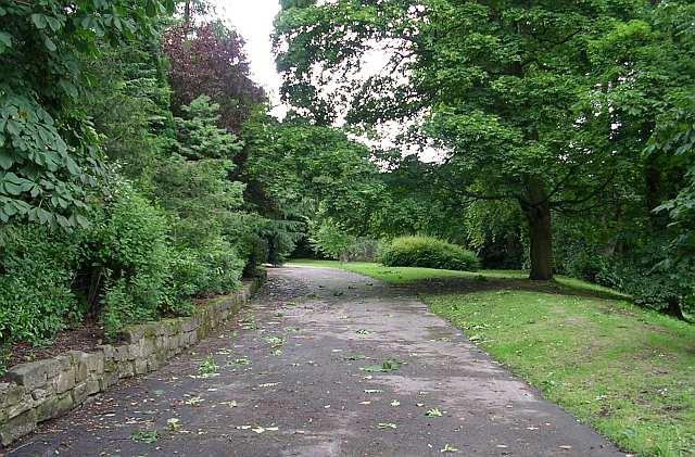 Devonshire Park Entrance - Spring Gardens Lane