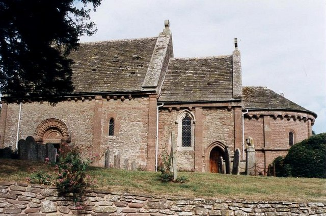 Kilpeck Church - side view