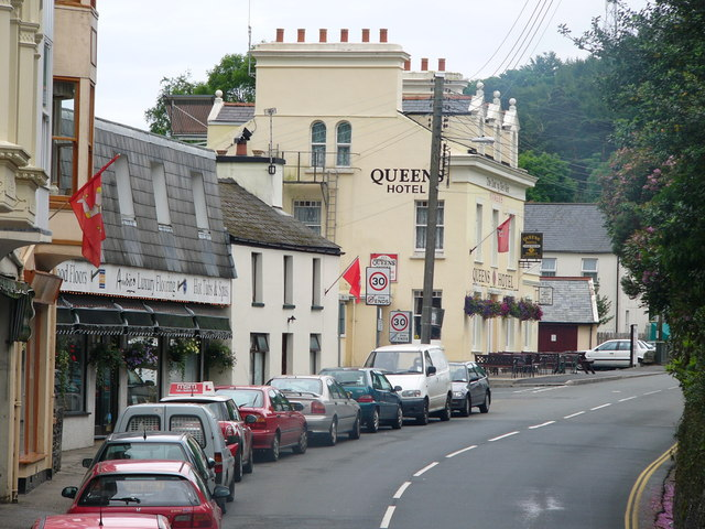 Queens Hotel ,New Road, Laxey
