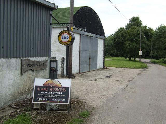 Carl's Garage, at Brickhouse Farm, Holder's Green