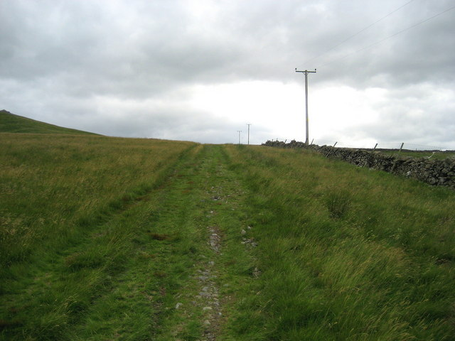 Track below Brownthwaite Pike