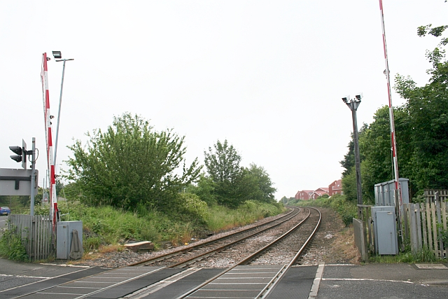 Lower Goods Line By-Passing Northallerton Railway Station