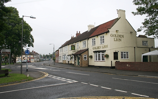 The Golden Lion, Romanby