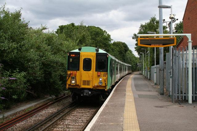 Belmont station, Surrey