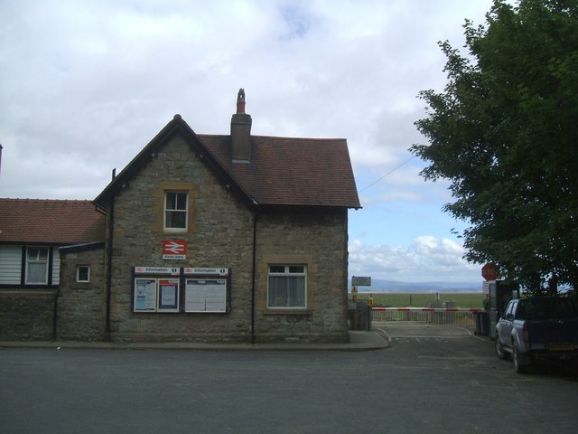 Kents Bank railway station, on the Furness Line