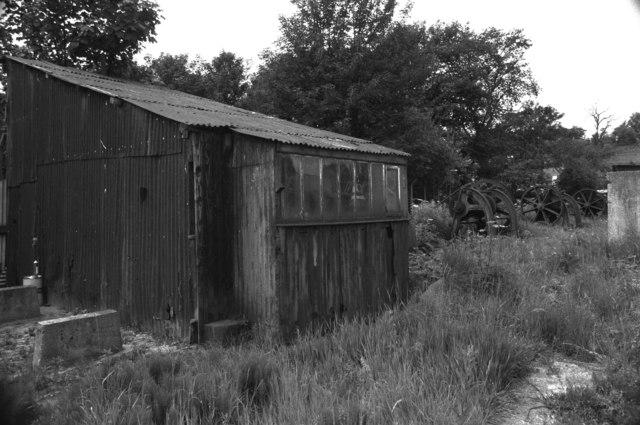 BWB Maintenance Yard, slipway haulage shed