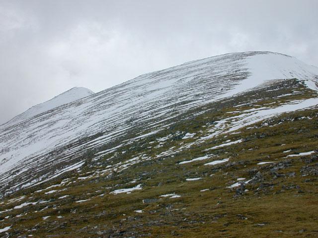 The south east ridge of A'  Chralaig