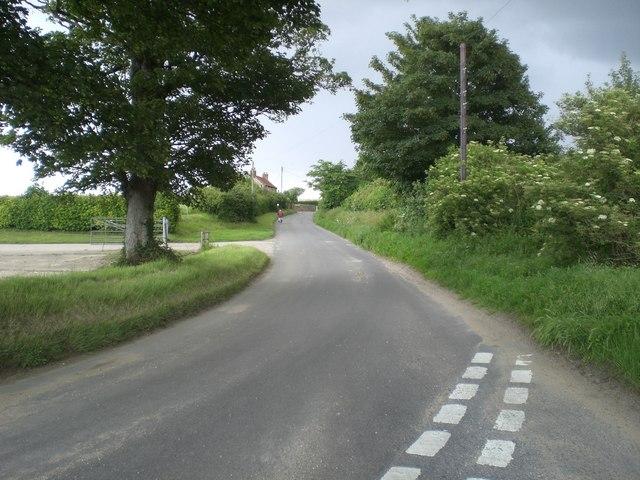 View towards Westgate near Binham