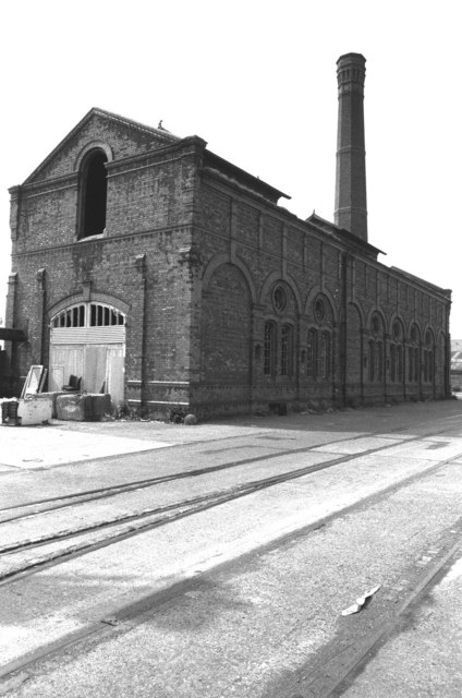 The old Wallasey Dock Impounding Station