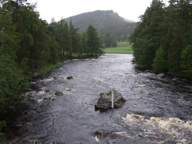 Upstream River Dee