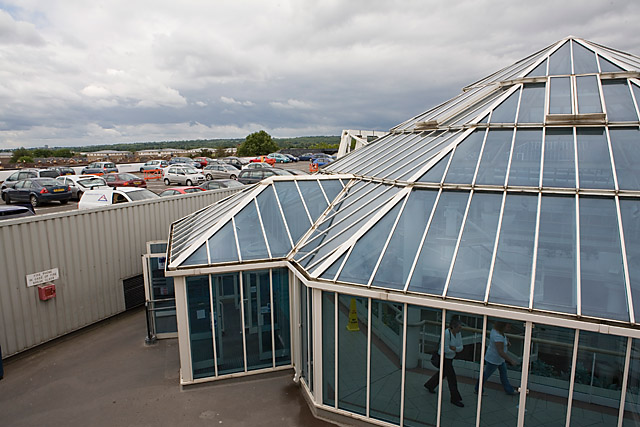 Top of the Swan Centre, Eastleigh