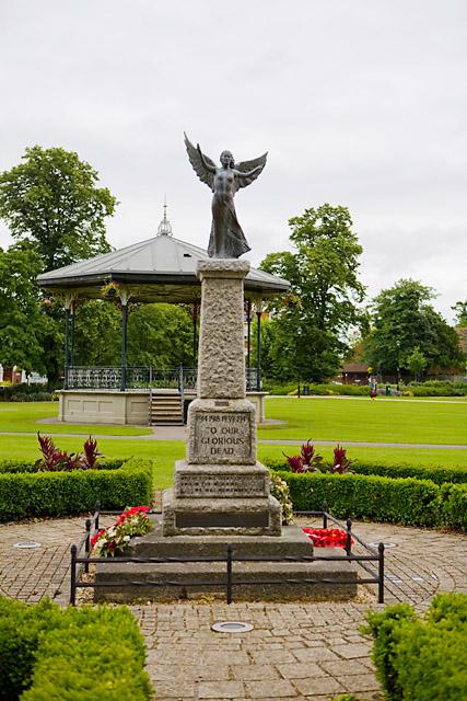 War Memorial in The Park, Eastleigh