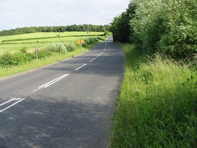 Bullockstone Road, looking SE