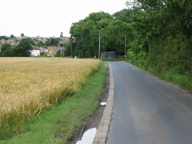 Approaching Lower Herne on Lower Herne Road
