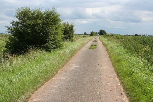 Spark's Lane on Whaplode Fen