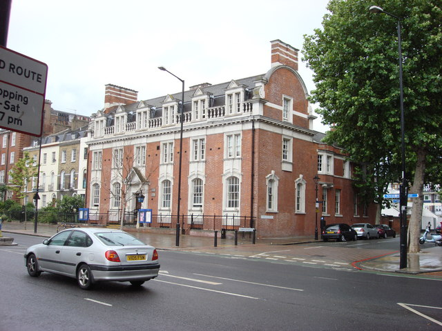 Police Station on Bow Road