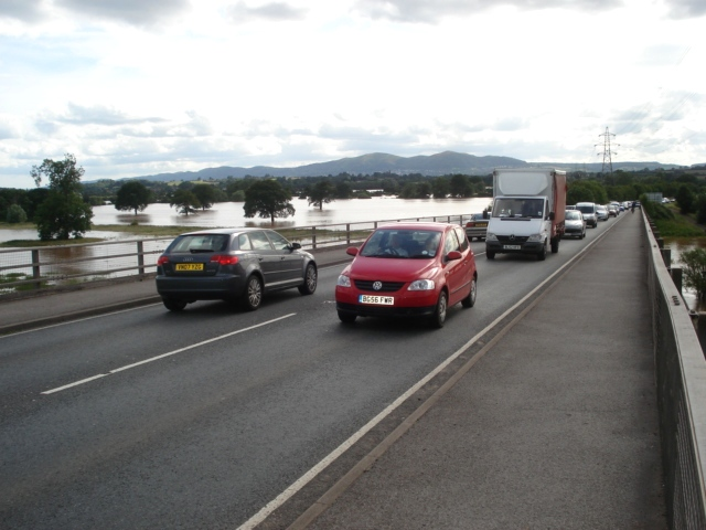 A4440 at the Carrington bridge