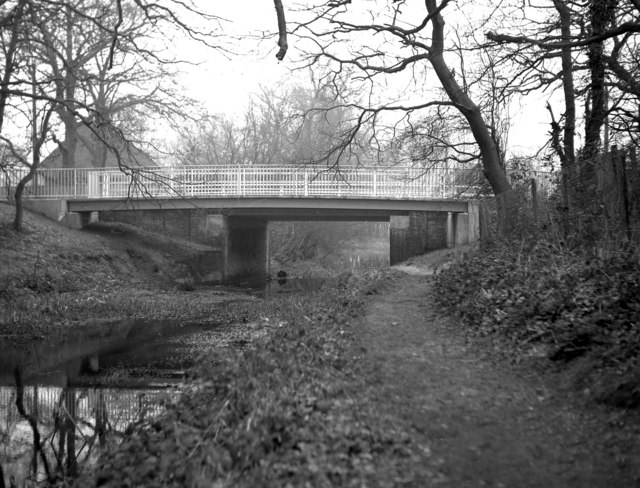 Coxheath Bridge, Basingstoke Canal